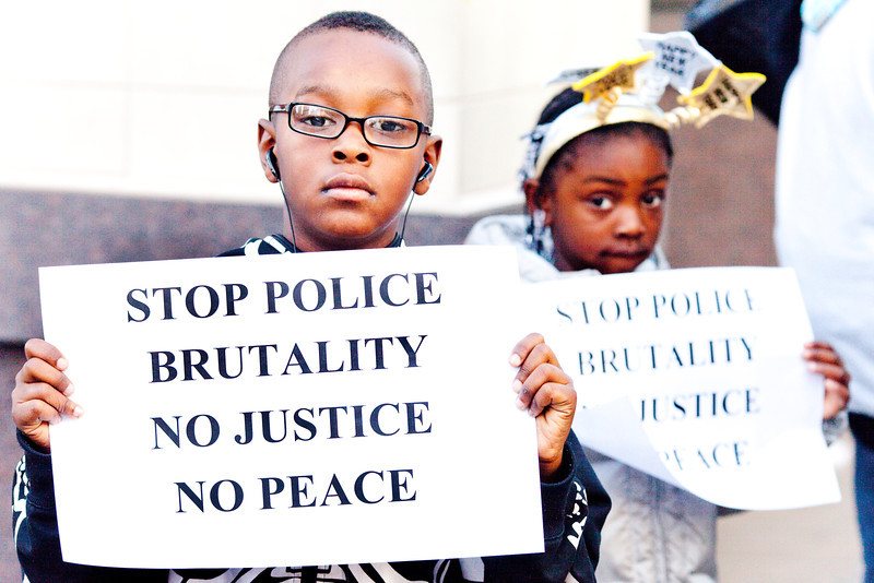 Stop Police Brutality, No Justice No Peace