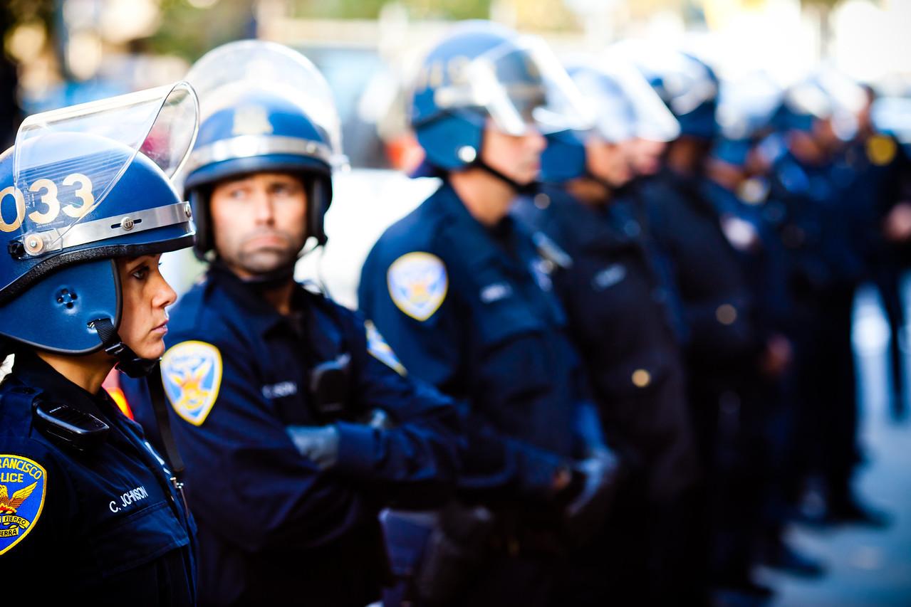Riot Police -- San Francisco, CA