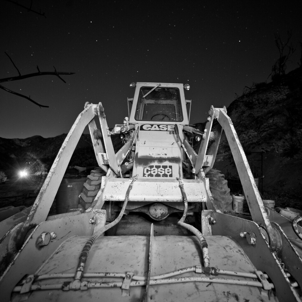 Night Tractor Series, Plate 12