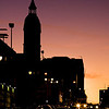 The City Gates at Twilight