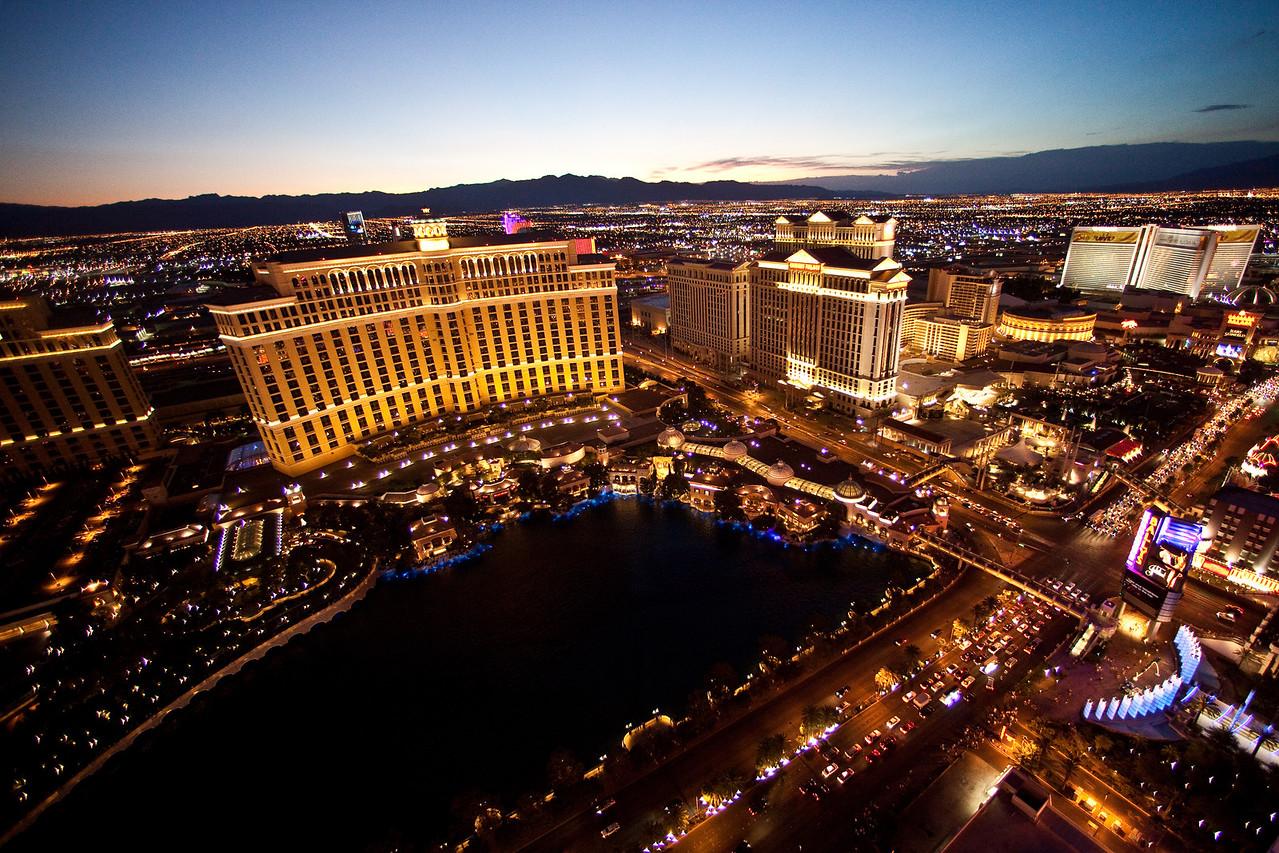 Somewhere in Las Vegas