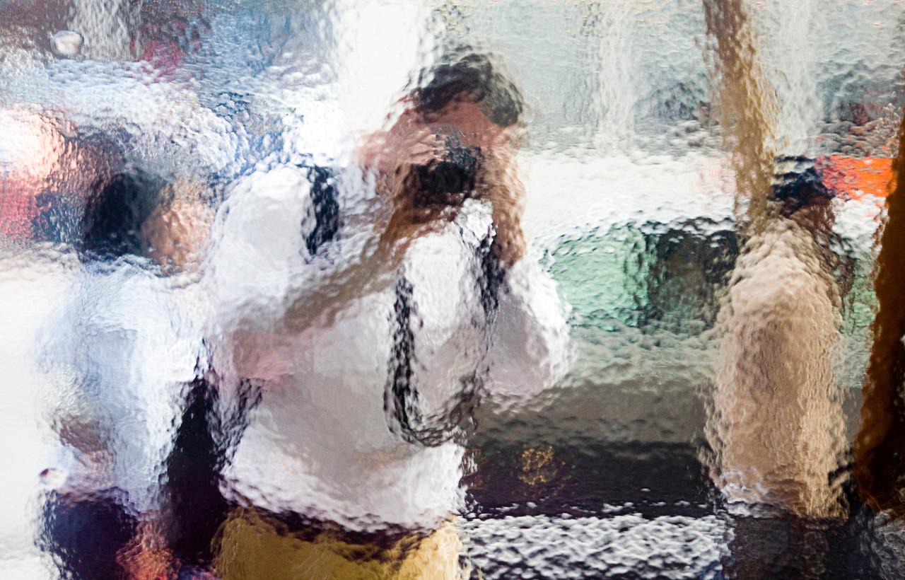 Self Portrait Series on Market Street, Plate 1