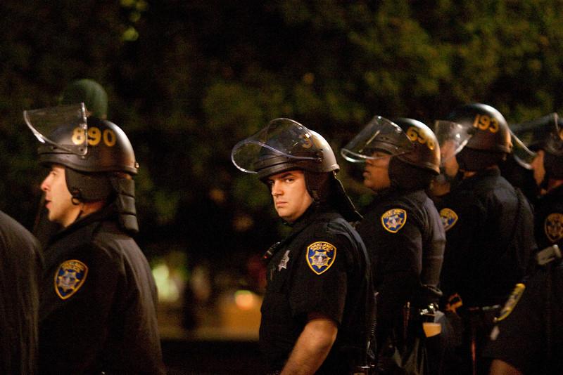 Police, Oakland Riots-6