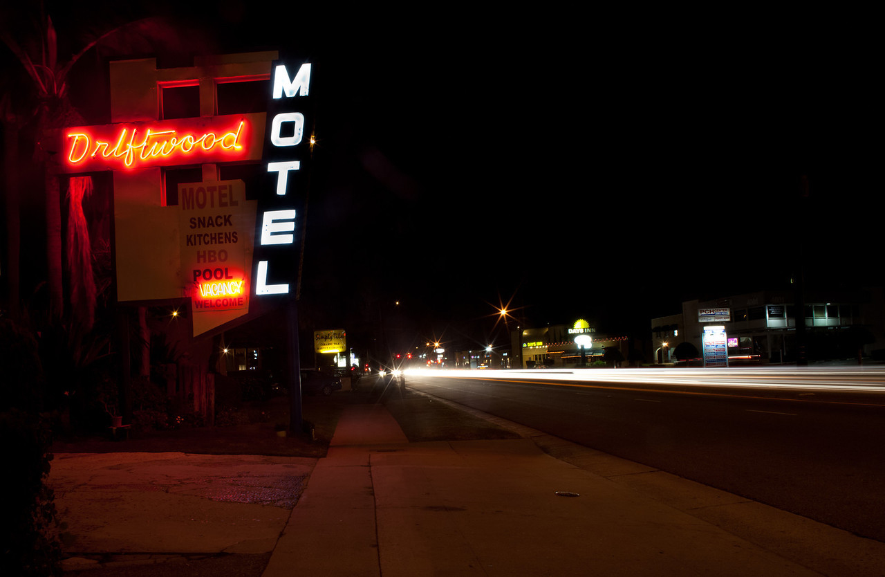Drift With Me For A While Baby at the Driftwood Motel