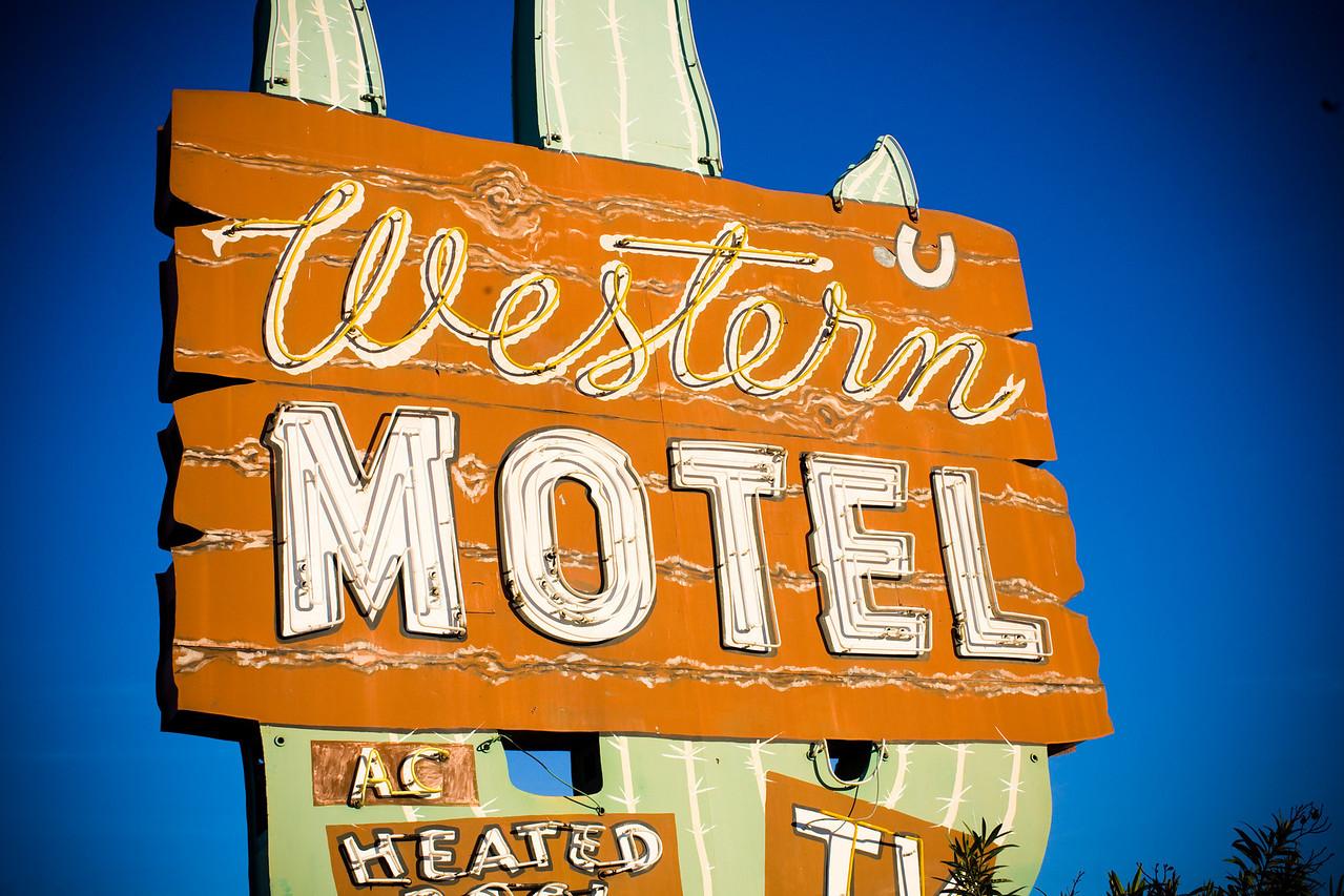 Western Motel, Plate 2