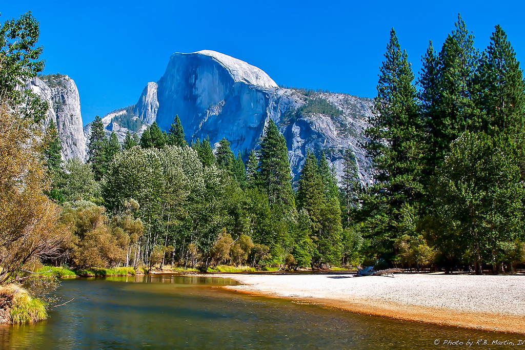 Half Dome from the Merced River