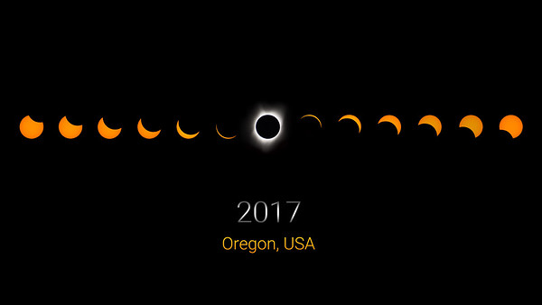 2017 Eclipse Commemorative Wallpaper