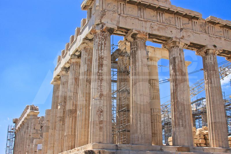 Athens Greece 20080622 - 195 - Parthenon M