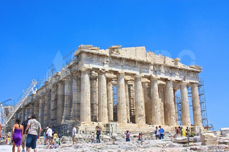 Athens Greece 20080622 - 150 - Parthenon M