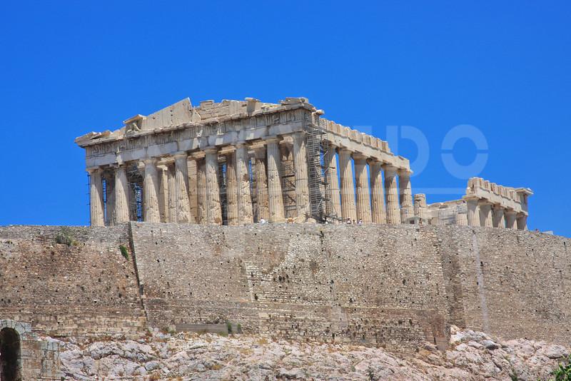 Athens Greece 20080622 - 102 - Parthenon M