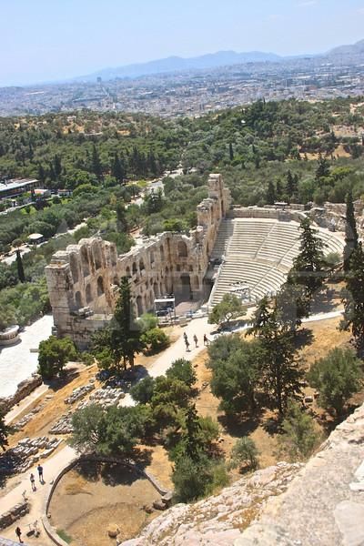 Athens Greece 20080622 - 219 - Theatro Irodou Attikou M