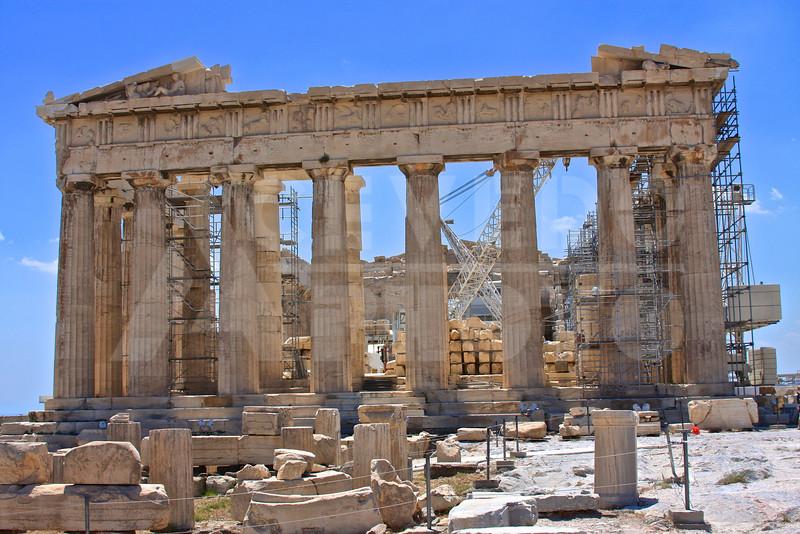 Athens Greece 20080622 - 192 - Parthenon M