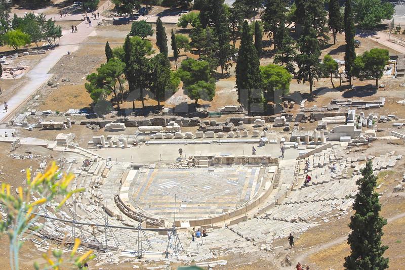 Athens Greece 20080622 - 197 - Teatro Dionisou M