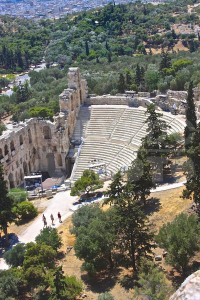 Athens Greece 20080622 - 218 - Theatro Irodou Attikou M