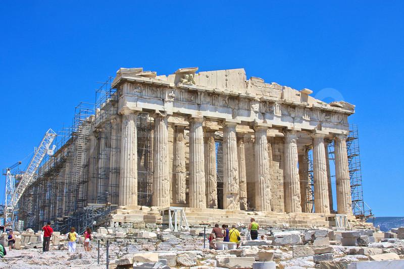 Athens Greece 20080622 - 153 - Parthenon M