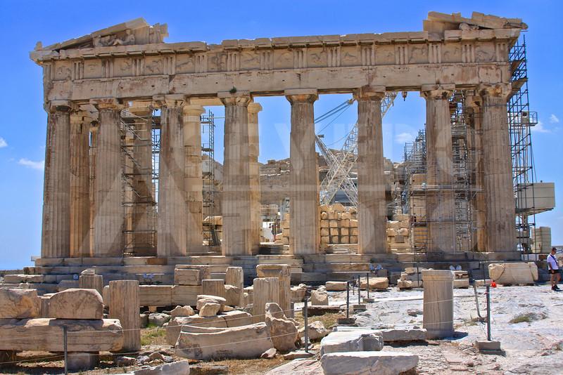 Athens Greece 20080622 - 191 - Parthenon M