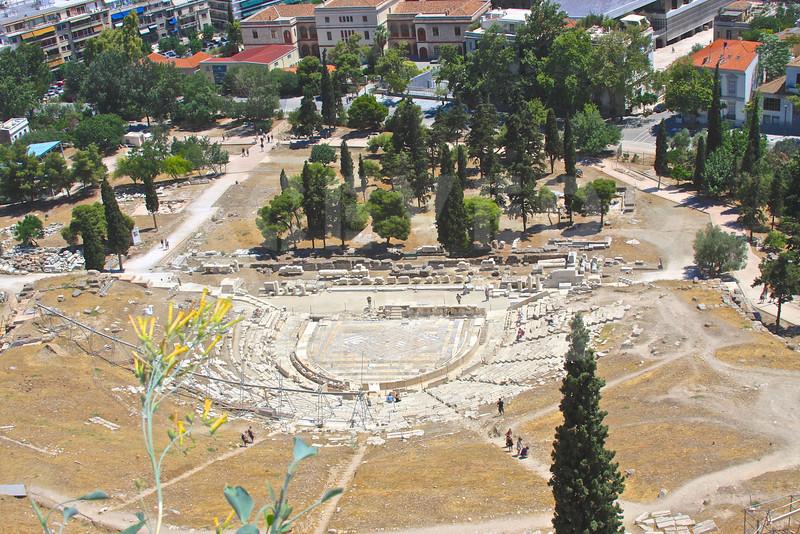 Athens Greece 20080622 - 196 - Teatro Dionisou M
