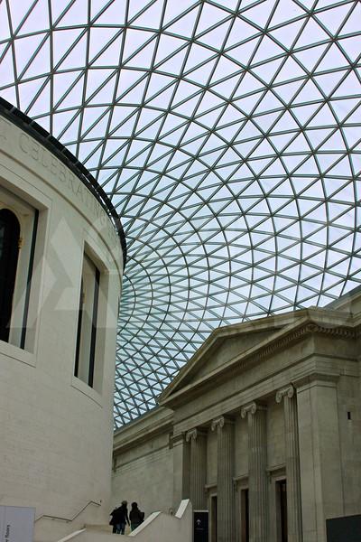 British Museum - interior.