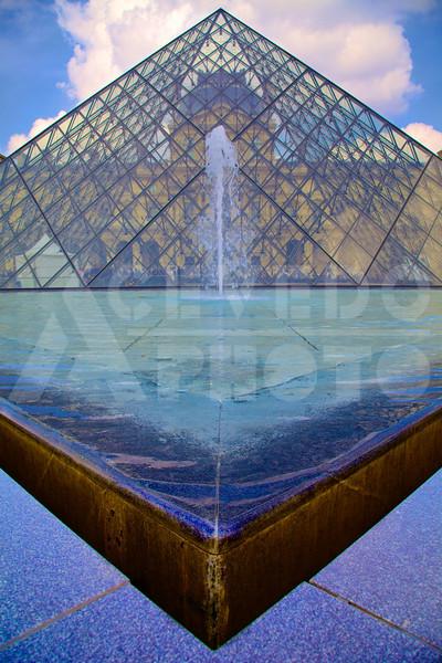 Géométrie au Louvre
