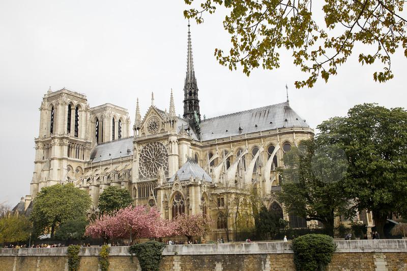 Notre Dame April 2012