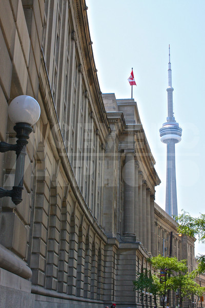 Toronto 20110618 158 Front Street Offices and CN Tower M
