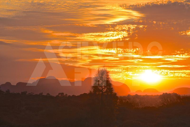 Uluru 20111010 106 Sounds of Silence Dinner - Sunset - Kata Tjuta M