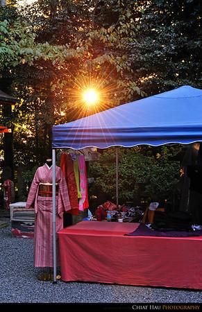 Just a nice evening sunshine + The Kimono