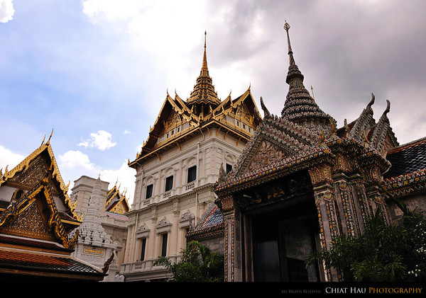 This is where the Thai King stay