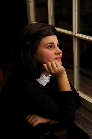 San Diego Jewish Times Cover Photo - Feature story on Diary of Anne Frank production