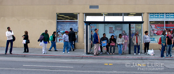 Bus Stop, The Mission, San Francisco