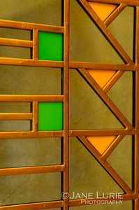 Art Glass Window, Frank Lloyd Wright, Chicago