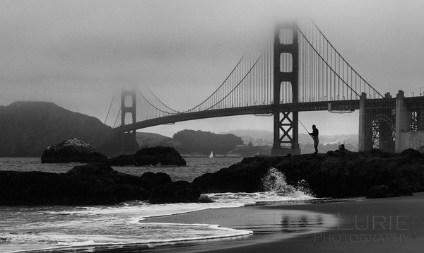 Morning Catch, Baker Beach, SF