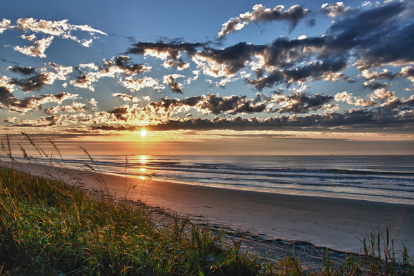 Sunrise and Clouds, Kiawah Island