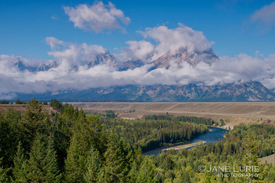 Morning Clouds, Grand Tetons