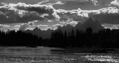 Snake River and Tetons, Wyoming