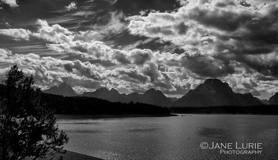 Jackson Lake and Tetons, Wyoming