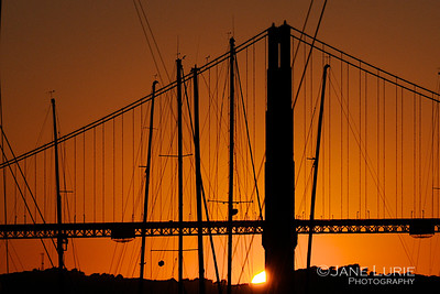 Golden Gate and Masts