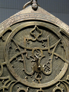 Planispheric Astrolabe, 1222, Spain, brass.