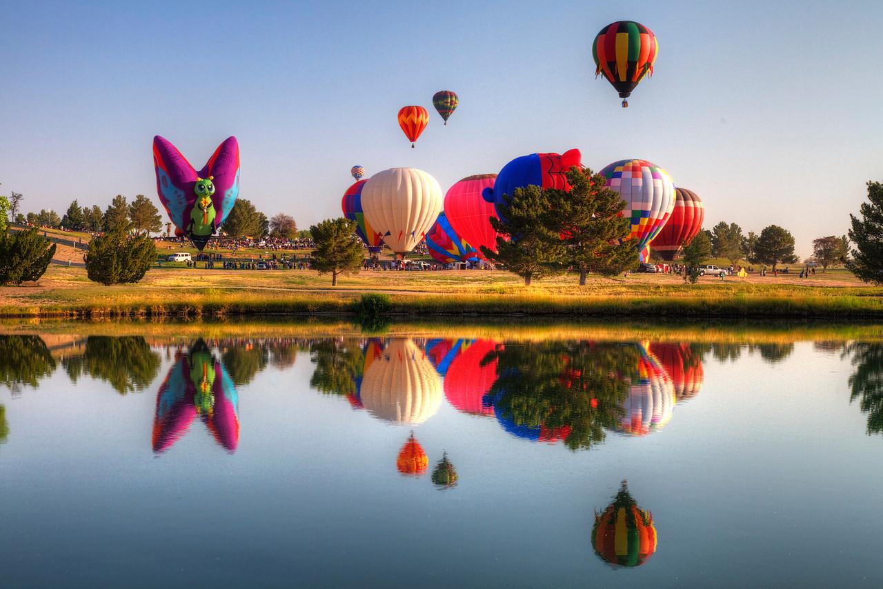 KLAQ Balloonfest 2012 in HDR