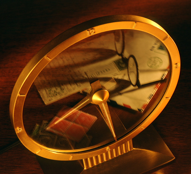 Reflection in Clock, Annual Report