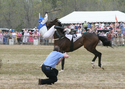 Carolina Cup  in March - Hold on!