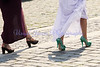 Wedding shoes, Prague