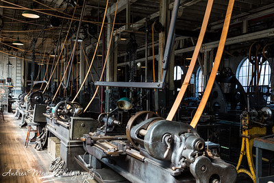 Belts in Edison's Heavy Machine Shop