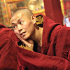 Contemplative monk, Tibet
