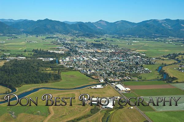Tillamook City Aerials