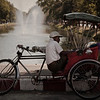 A Rickshaw Man's Break<br /> Chiang Mai, Thailand