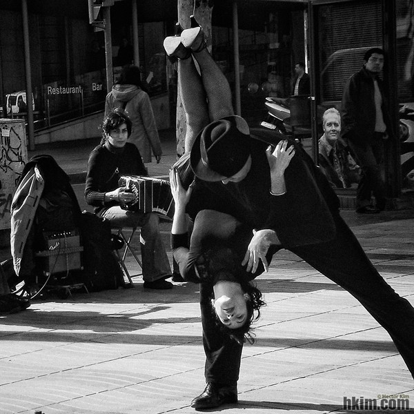 Street Performers<br /> Barcelona, Spain