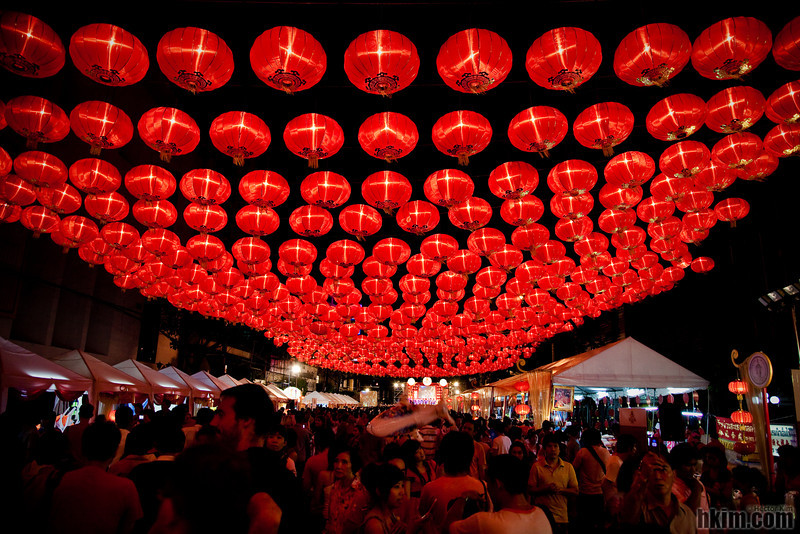 Lunar New Year's Day in Chinatown<br /> Bangkok, Thailand