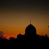 Domes in Sunset<br /> Budapest, Hungary