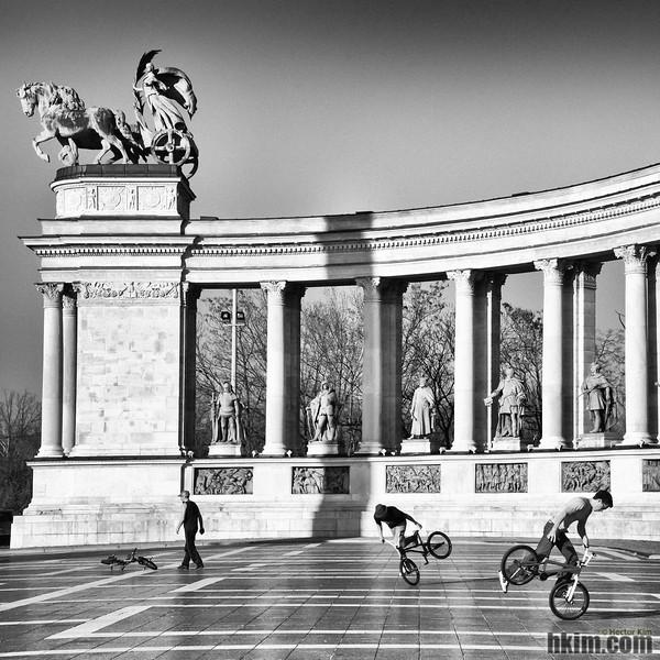 Becoming History<br /> Budapest, Hungary